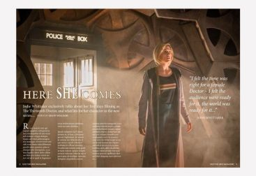 Dr Who Mag Article Mockup