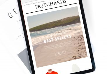 Pritchards Best Sellers email campaign