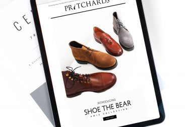 Pritchards Shoe The Bear AW19 collection email campaign