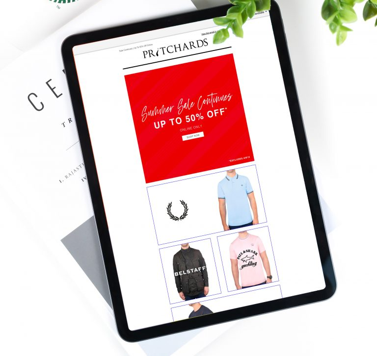 Pritchards Summer Sale Continues Email Campaign