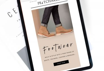 Pritchards Footwear Email Campaign