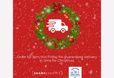 Enamel Shades Christmas Reminder Graphic