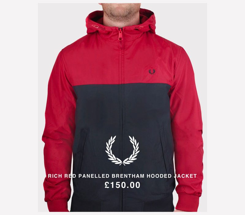 Pritchards Fred Perry Jumper Graphic