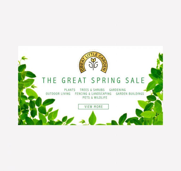 Great Little Garden Email Banner