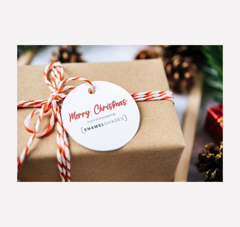 Enamel Shades Merry Christmas Graphic