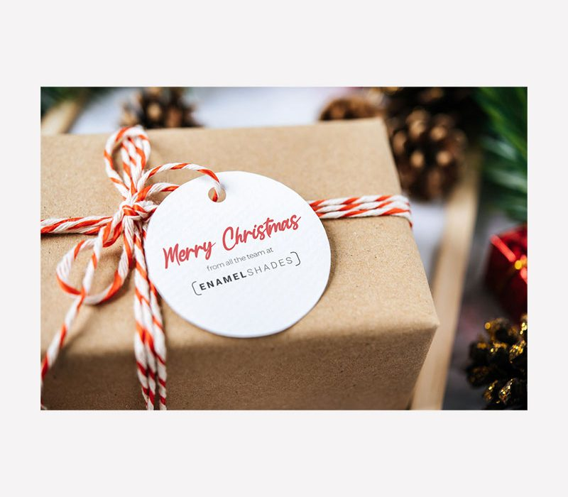 Enamel Shades Merry Christmas Graphic