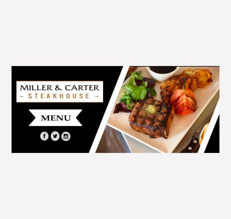 Miller & Carter Web Banner Mock-Up
