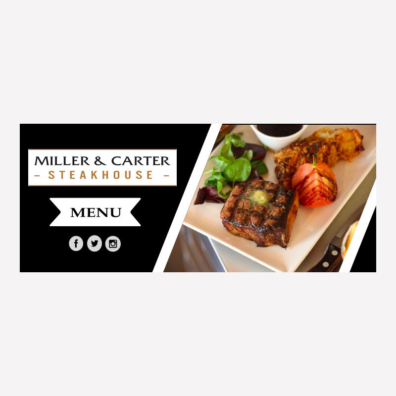 Miller & Carter Web Banner Mock-Up
