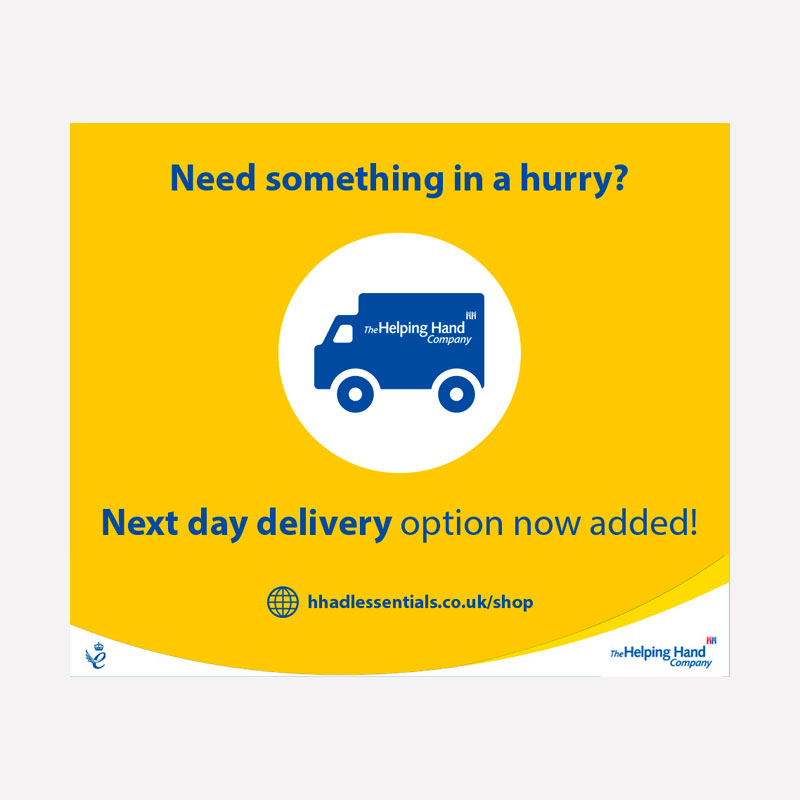 Next Day Delivery Graphic