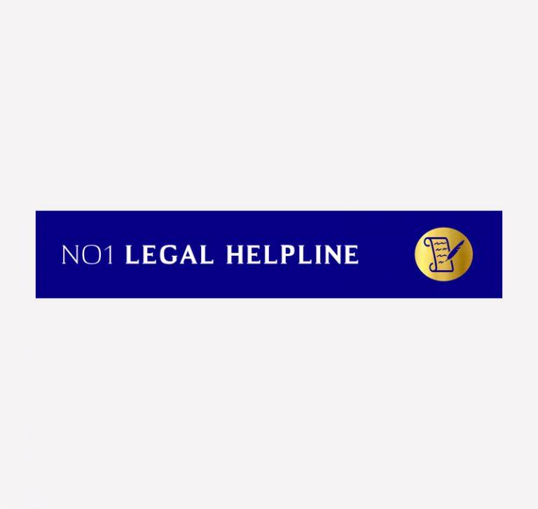 NO1 Legal Helpine Logo