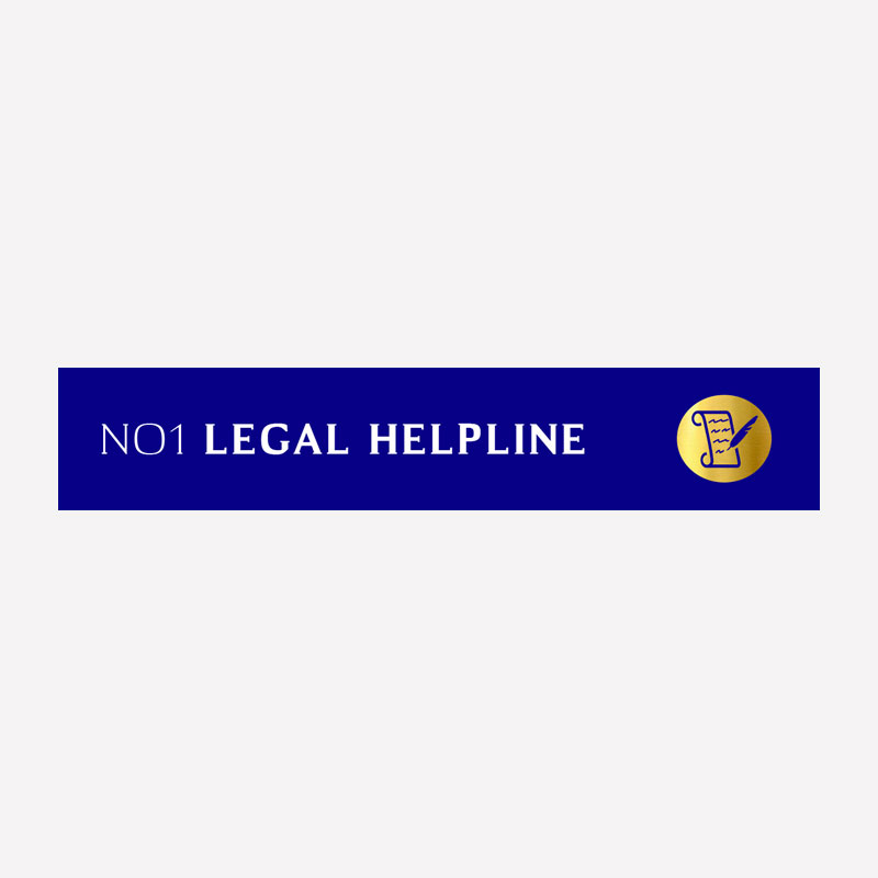 NO1 Legal Helpine Logo