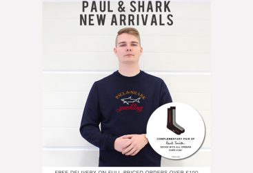 Pritchards Paul & Shark New Arrivals Email Graphic