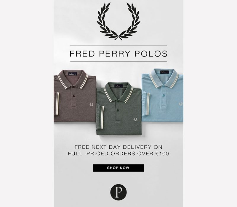 Prtichards Fred Perry Polo Email Graphic