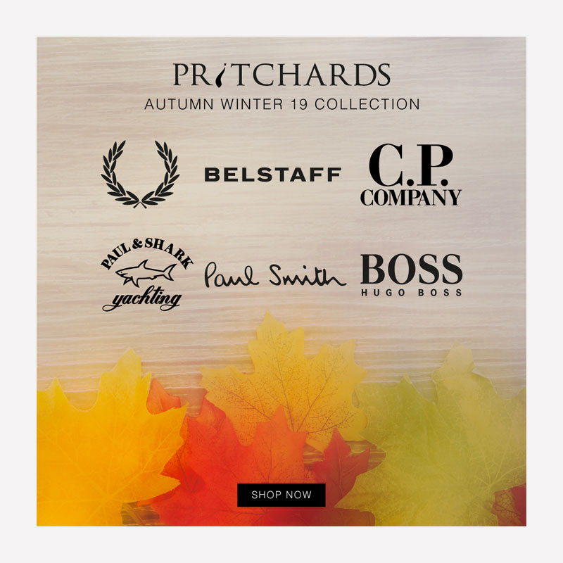 Pritchards AW19 Email Graphic