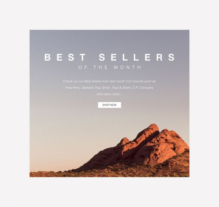 Pritchards Best Sellers of the Month Email Graphic