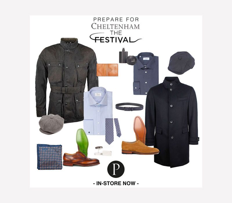 Pritchards Prepare For The Cheltenham Festival Graphic