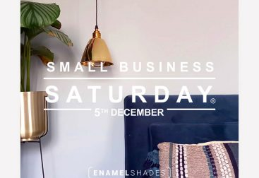 Enamel Shades Small Business Saturday Graphic