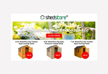 Shedstore Email Graphic
