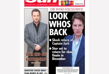 The Sun Newspaper Mock-Up