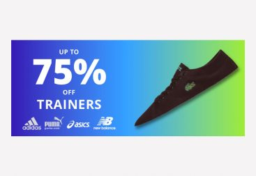 Trainers Sale Web Banner