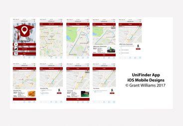 UniFinder Tablet Design